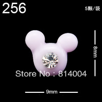 22 MIXED STYLES Free Shipping Wholesale/Nail Supply, 200pcs DIY BOW-TIE Nails Design/Nail Art, Unique Gift  #256