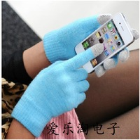 Touch screen gloves fashion 7 smart phone touch screen set new arrival hot-selling