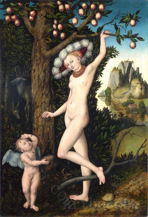 Cranach The Elder Venus And Cupid Lucas Cranach The Elder Cupid