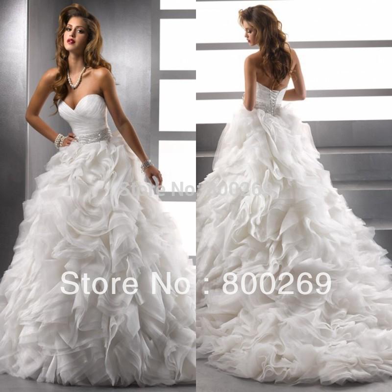 Alibaba blanc mode robe de mariée robe Made in China A3329 dans Robes ...