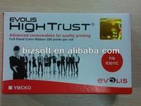 Evolis R3011 YMCKO Original Color Ribbon for Pebble 4 ID Cards Printers