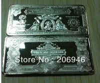 Пользовательские Серебряная монета + не магнитные латунь чистого серебра американской свободы буйвол 999 тонкой серебряной 500pcslot dhl