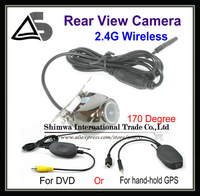 Wholesale 170 degree lens Angle Car Rear Camera View Reversing Backup NTSC / PAL 1/4 inch color COMS free DHL