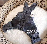 Free Shipping 2013 black Dog suspenders Dog Pet Clothing Dog Clothes Dog Coat