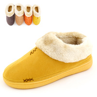 On Sell-- Hot Selling cotton-padded shoes lovers warm shoes plush male cotton-padded Women home slippers