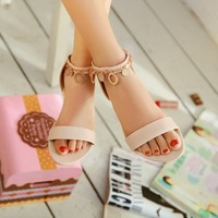 2013 flat sandals paillette sandals candy color soft outsole sandals women's shoes