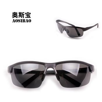Oscar male gift fashion aluminum magnesium sun glasses sports sunglasses