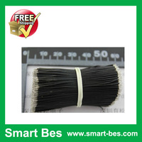 Smart Bes!Free Shipping!Black 100PCS/Lot 50MM Double Side Tin Plating Electrical Wires with good quality