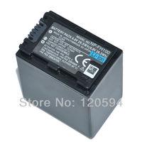 NP-FH100 NPFH100 Camera Battery For sony  Camera P-FH30 NP-FH40 NP-FH50 NP-FH60 NP-FH70 bateria batterie akku Free shipping
