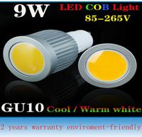 2013 NEW LED!! GU10 7W COB 85-265V Led Spotlight led down light 2 years warranty enviroment-friendly led product  10pcs/lot