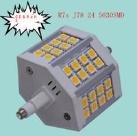 R7S 24SMD 5630 7W LED Bulbs Light lamp Energy saving lighting 600LM 10pcs