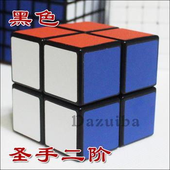 Second order magic cube spring 2 magic cube black white adjustable elastic