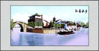 Suzhou embroidery paintings embroidery decorative painting business gift