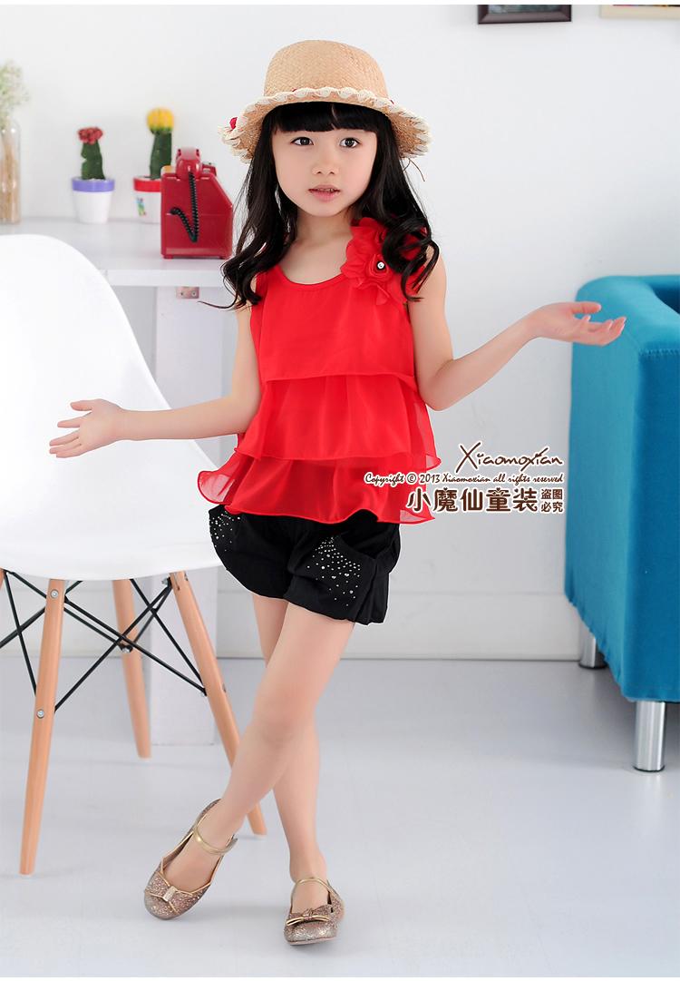 2013 المرأة الصيف تناسب الأطفال ملابس