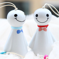 Jingdezhen ceramic accessories wind chimes doll car hanging home decoration bags