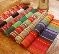 Cotton doormat  Floor mats pad carpet waste-absorbing slip-resistant pad bath mat 45*70cm