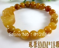 wholesale 10 bracelets 10 mm JADE  beads bracelet