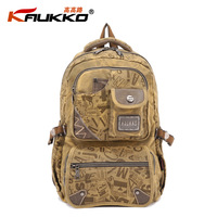 men's  fashion casual canvas backpack travel sports bag backpacks for men for retail and wholesale, free shipping W13
