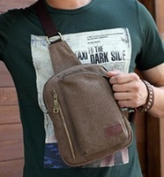 fashion designer outdoor canvas shoulder messener bags sports chest pack bag for men an women, wholesale, free shipping FJ13