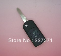 2 Buttons Remote Flip Key case For Mazda 3 5 6 Divided Key Shell(China (Mainland))