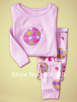 6sets/lot baby wear set 100% conton baby long sleeve pajamas boy's and girl's underwear clothing sets kids clear suits sets A008