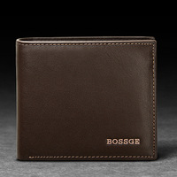 2013 new male wallet long design  wallet cowhide wallet men's genuine leather casual purse