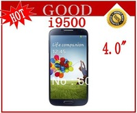 New i9500 S4 mobile phone dual sim 4.0 inch touch screen Unlocked Mobile Phone Free shipping