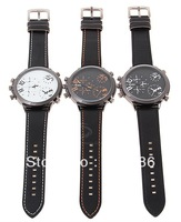 Free Shipping! Hot! Fashion Quartz Stainless wrist Watch with Calendar Great quality
