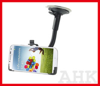 Free shipping Multi Direction Car Windshield Mount Holder Stand for Samsung s4 i9500 5pcs/lot