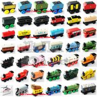 87 wooden magnetic thomas train toy child wool orbit train 1 - 38