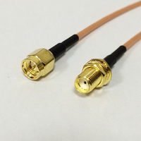 SMA  male  to sma female  pigtail cable RG316 wholesale fast ship
