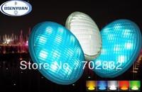 Free shippment !High power Par56 54w LED underwater lights,18leds singel color can choose!red/orange/bule/green/white/warm whte