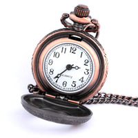 Watch all-match vintage small pocket watch long necklace pocket watch