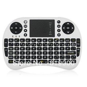 Mini 2.4G Wireless Portable Keyboards Multi-Media 92 Keys Remote Control Touchpad for PC TV Laptops Tablet Desktops 740056 1pc