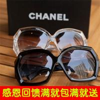 E9010 crystal transparent fashion sunglasses female sunglasses oversized star style fashion vintage glasses