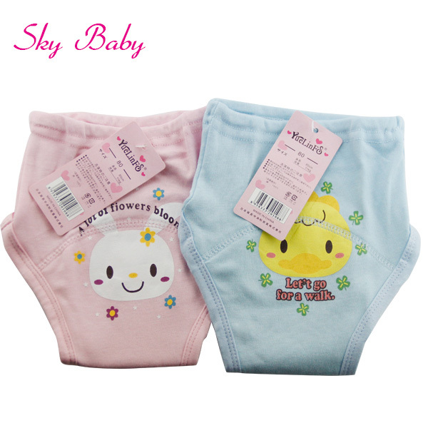 Free Drop Shipping panties for baby , baby Diaper learning walking, sale pants kids(China (Mainland))
