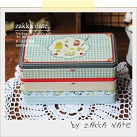Metal small zakka fresh storage box jewelry box stationery box candy box