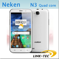 New arrival Neken N3 MTK6582 quad core 5.7 inch screen 1gb ram 4gb rom 8MP camera android 4.1 dual sim smart phone 3g unlocked