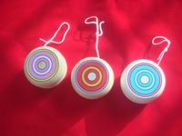 Free Shipping Goki wooden mini yoyo yo-yo ball classic nostalgic toy