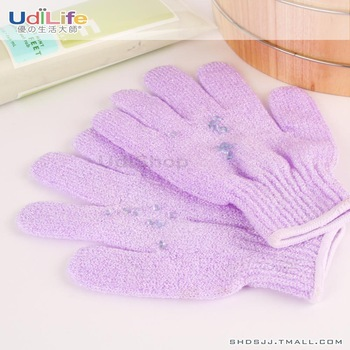 Free shipping 2pc/lot bath gloves bath chopping towl high quality whole sale price retail bath brushes sponges