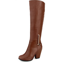 Passion 2013 women's shoes genuine leather knee-length boots thick high-heeled boots gaotong rabbit fur long boots unique *