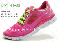 Free shipping! lowest pirce 2013 NEW barefoot running shoes free run 5.0 +3 sports shoes colors eur 36-45