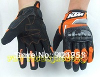 Wholesale - Free shipping KTM Racing 2010 Glove Black color motoryclr gloves