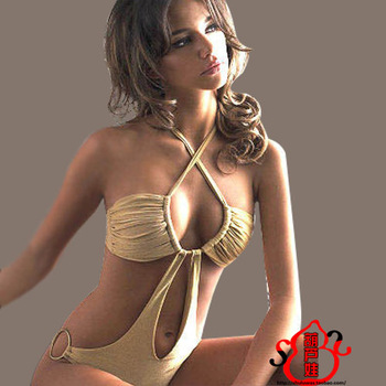 Free shipping Swimsuit Sexy Lady triangle bikini swimsuit Spa Temptation