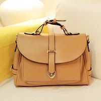 Fashion casual 019 2013 horizontal square PU street tassel bag female bags female one shoulder