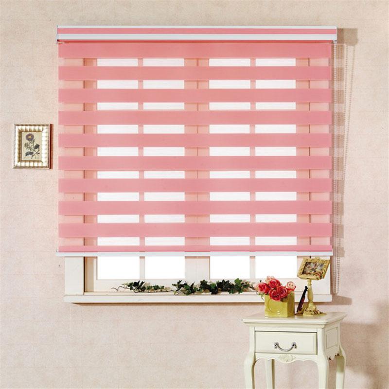 Estore Rgxzr shalian camada dupla cortina de sombra cortina cortinas dia blinds zebra e cortina noite(China (Mainland))