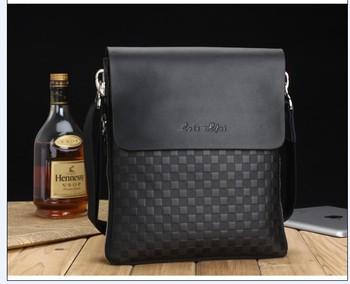 2014 hot sale  fashion men shoulder bag men messenger bag business man bag free shipping wholesale and retail 6802