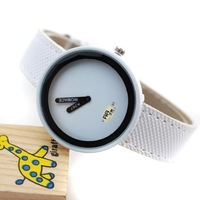 Wholesale Men and Women For Watches, Contracted Style Leather Watch And Students Watch, 9 Color Optional DHL Free Shipping
