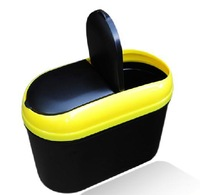 Free shipping! Multifunctional car glove box car trash can car garbage bucket