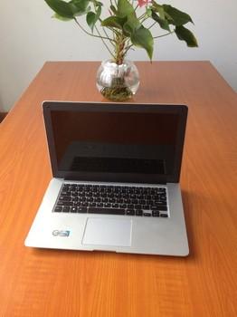 "14"" ultrabook  thin laptop slim notebook pc with intel atom dual core WIFI Webcam Win7 4G Ram 500GB HDD"